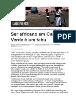 Racismo Em Portugal_Cabo Verde