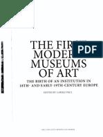 First Modern Museums