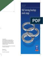 SKF Slewing Bearings Stock Range Leaflet