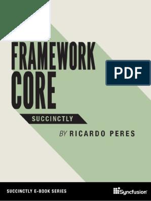 Entity Frame Work Core Succinctly   Entity Framework
