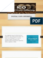 Initial coin offering token