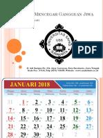 Kalender Cara Mencegah Gangguan Jiwa