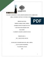 Plan de Calidad en Las Areas de Responsabilidad de La Dirección