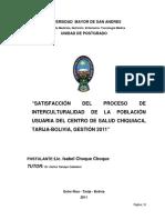 Salud Chiquiaca Centro