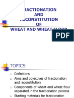 Fractionation and Reconstitution Of
