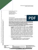 Requerimiento de Hacienda a la interventora general de la Generalitat