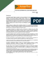 SOSA (1986) Apectos Politica Exterior Dictadura Militar Corregido