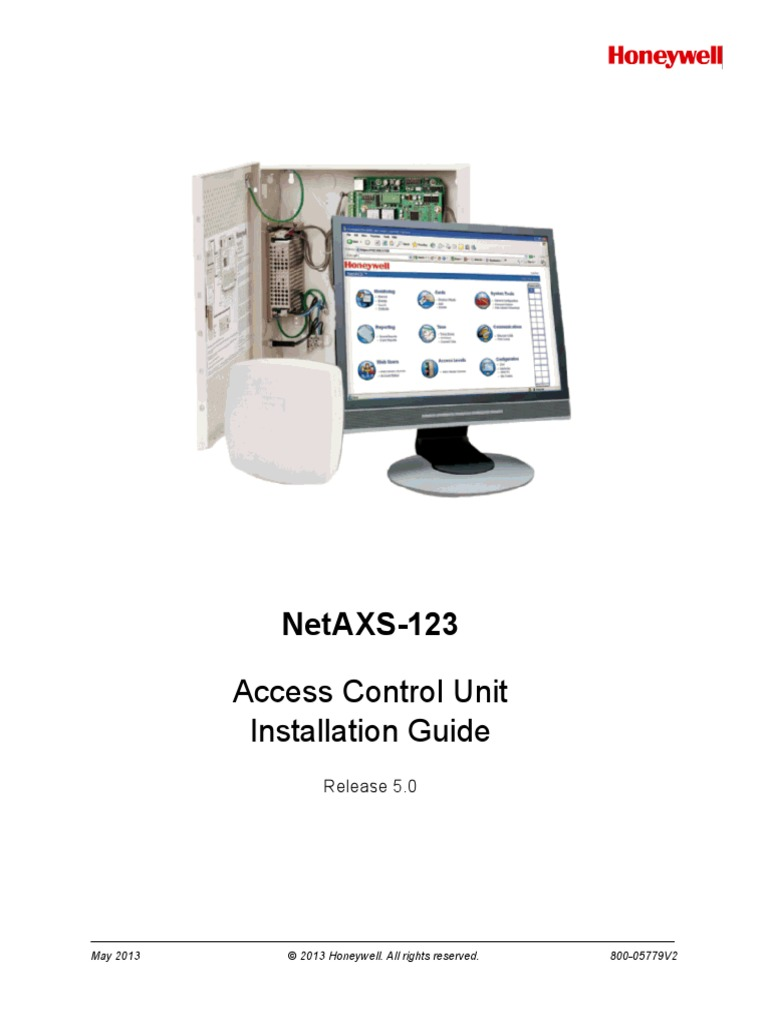 800-05779V2_NetAXS_123_5.0_INSTALL_GUIDE | Access Control | Authentication