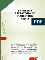 Clase III - Cap 2 Empresa y Estrategia de Marketing