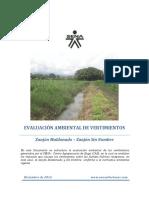 Evaluación Ambiental Del Vertimiento Sena