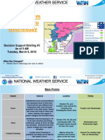 Weather Briefing 4 a.m. March 6 National Weather Service