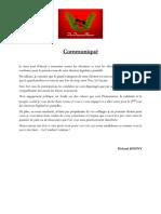 CommuniquE Rjoigny 1