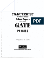 Arihant ChapterWise Gate Solution Physics