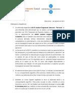 ADI-R - Carta Agosto 2015