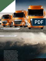 DAF Model Range Brochure FR