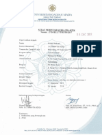 Contoh Surat Tugas (UGM)