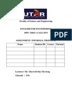 Informal Proposal Draft Ver1.0