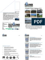 Polymer Innovations Complete Product Catalogue 2012