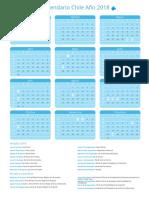 Calendario Chile 2018