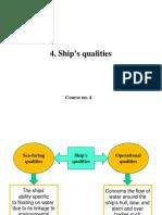 C4 Ships Qualities