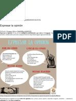 Expresar La Opinión _ Lenguaje y Otras Luces