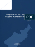 Insurgency in the DPRK? Post regime insurgency in Comparative Perspective