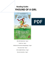 A Greyhound of a Girl - Reading Guide