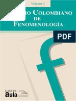 La paradoja de la escisión del yo, Anuario Vol. X