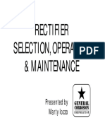 Corrosion Rectifiers