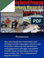 Community Base Program KSR UNDIP