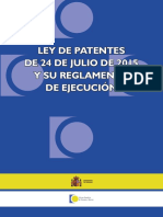 Ley de Patentes 2017