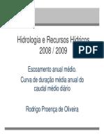 Hidrologia y Recurso Hidricos