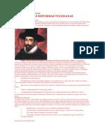 Las Reformas Toledanas Resumen