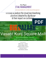 Visual merchandising in Big Bazaar | Retail Management , Retail Marketing