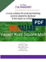 Visual merchandising in Big Bazaar | Retail Management , Retail Marketing