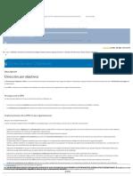 Dirección Por Objetivos - Software ISO
