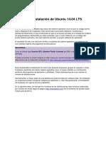 Tema 8 - Instalación Ubuntu