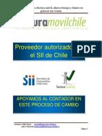 Factura Móvil Chile Apoyando en Facturación Electrónica en Chile