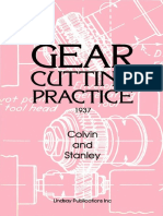 Gear Cutting Practice