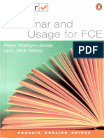 Test Your Grammar And Usage For FCE.pdf