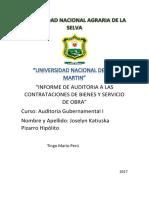Memorandum de Planeamiento de UNSM