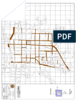 Calles a Intervenir - Desvio de Trafico Redes y Conexiones
