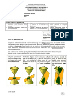 Guía 4 Matematicas de 10.. Secciones Cónicas