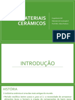 Aula 01 - Materiais Cerâmicos