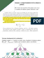 Función Zeta de Riemann y Comportamiento de Los Números Primos
