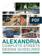 Alexandria Complete Streets Design Guidelines