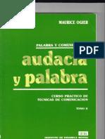 Audacia y Palabra - Maurice Ogier - Tomo II