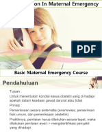 Early Detection in Maternal