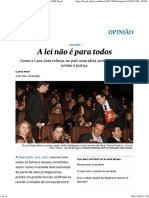 A Lei Não é Para Todos _ Opinião _ EL PAÍS Brasil