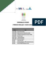 Cronograma de Atividades FPE 2o Periodo 2018